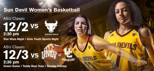 women's basketball flyer