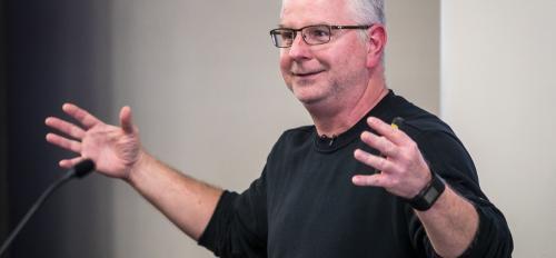 Coach Bowman lectures
