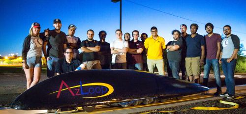 Arizona hyperloop team pod ASU engineering