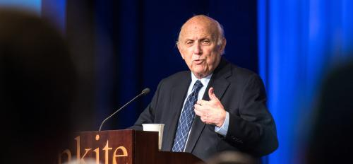 First Amendment lawyer Floyd Abrams speaks at ASU