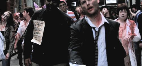 zombie walk in London