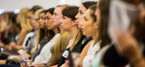 Women attend PowHER Women's Conference at ASU.