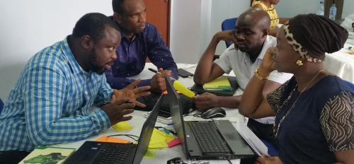 ASU Ethical Circular Economy workshop in Lagos, Nigeria