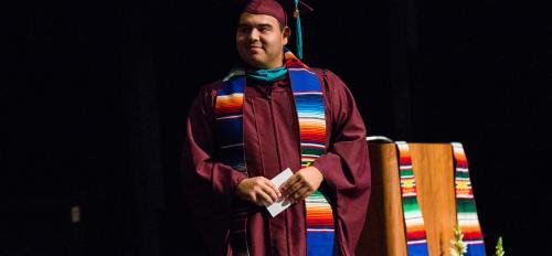 Hispanic convocation Dominic Luna
