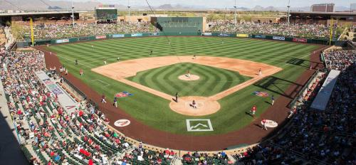 Salt River Fields baseball stadium