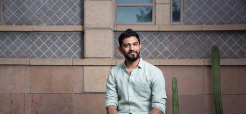 ASU graduate Jay Patel