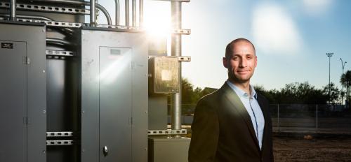 Nathan Johnson ASU Poly campus energy expert