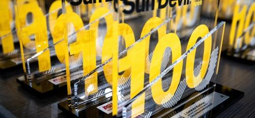 Sun Devil 100 honoree plaques displayed