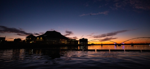 Tempe Town Lake at sunset