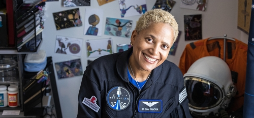 ASU alumna and SpaceX astronaut Sian Proctor