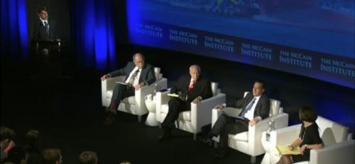 seated panel discussion