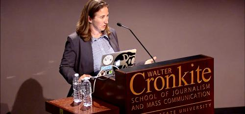 Walter Cronkite School of Journalism and Mass communication, Arizona State University, Melissa Lyttle, Must see Mondays