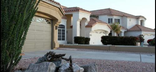 Goodyear Arizona house with desert landscaping