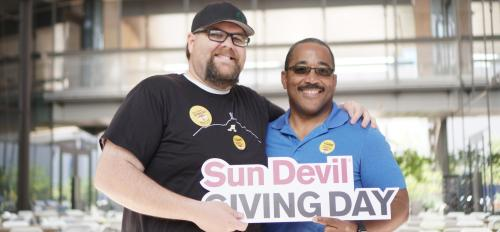 Sun Devil Giving Day is an annual celebration of generosity to ASU.