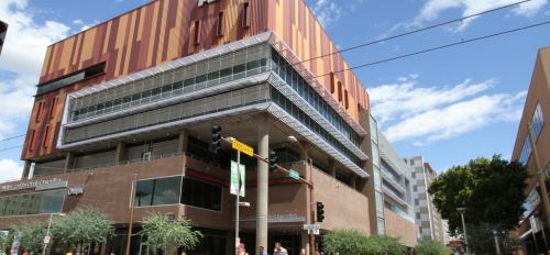 ASU Cronkite School building
