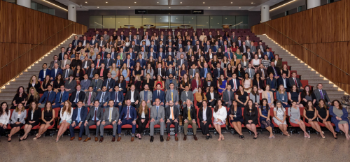 photo of Spring 2019 ASU Law graduates