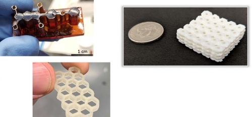 Examples of objects made with 3D printing