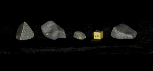 Aguas Zarcas meteorite samples