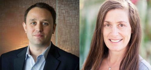 Derrick Anderson and Leah Gerber