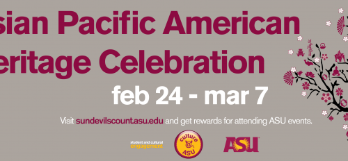 Asian Pacific American Heritage Celebration flier