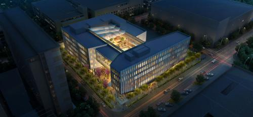 artist's rendering of the Sandra Day O'Connor College of Law Building