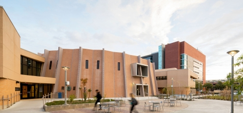 the outside of Armstrong Hall on ASU's Tempe campus
