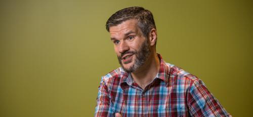 ASU Associate Professor of English Matthew Bell