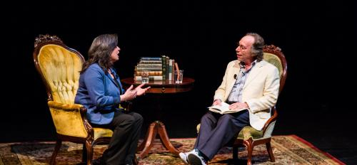 Origins Project dialogue with Mariette DiChristina and Lawrence Krauss
