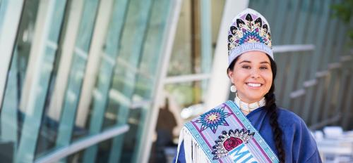 Miss Indian World 2016 Danielle Ta'Sheena