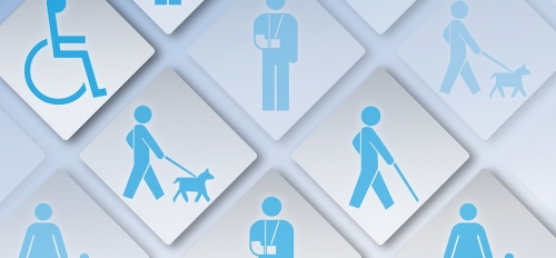 icons depicting different disabilities
