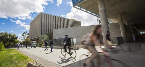 Bicycles on ASU campus