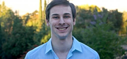 portrait of ASU grad Curtis Gokcen