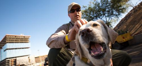 Disney is the ASU Police Department's canine.