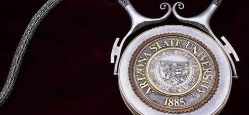 The President's Chain of Office medallion.