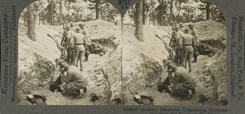 Marne River trench