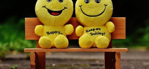 smiling toys