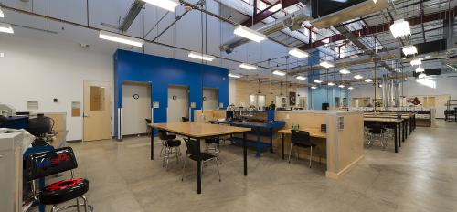 inside TechShop Chandler