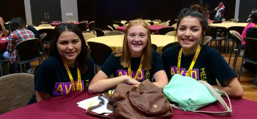 Mesa High School students, AVID Conference