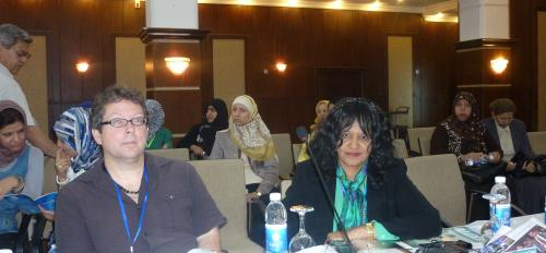 Souad T. Ali at conference in Iraq