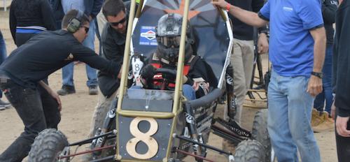 Sun Devil Racing club's BAJA SAE off-road race car