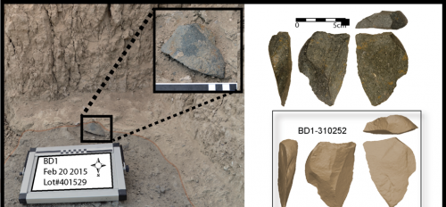 Flaked stone tools