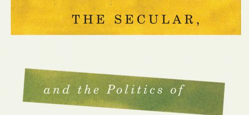 """Cover of new book """"Religion, the Secular, and the Politics of Sexual Difference"""""""