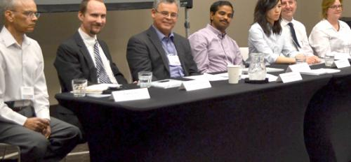 Panel of industry experts at  Postdoc Best Practices Arizona conference