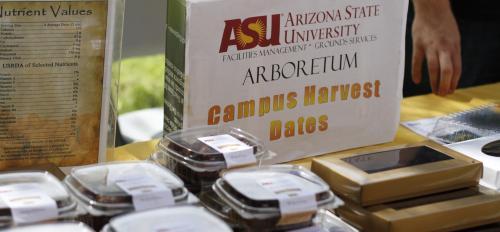 ASU campus harvest dates