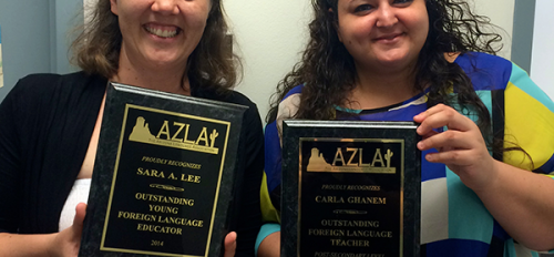 German faculty win 2013-2014 AZLA teaching awards