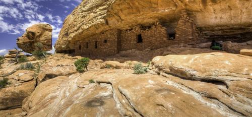Mesa ruins at Bears Ears National Monument