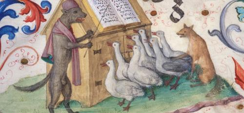 The Geese Book illustration