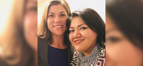 Photo of ASU Law alumni and tribal judges Christine Williams and Claudette White
