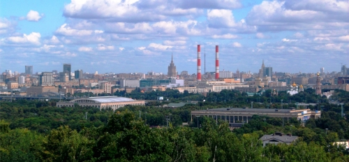 ASU Critical Languages Institute, photo of Moscow, Russia