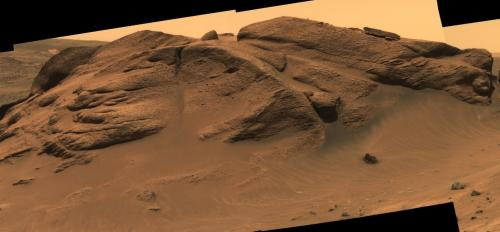 Comanche outcrop, Columbia Hills, Gusev Crater, Mars